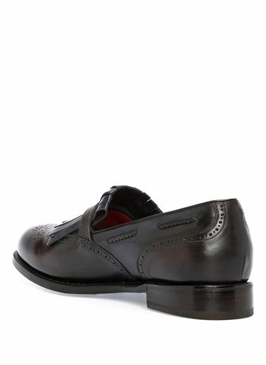 Barrett Deri Loafer Ayakkabı Kahve